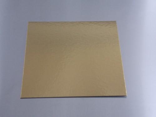 TAARTKARTON GOUD 18x18 cm