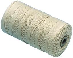 KATOENKOORD WIT NR. 28  500 gram p/ rol (ca. 425 meter)