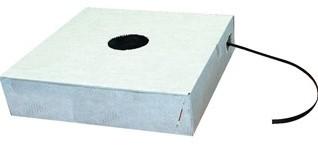 PP STRAPPING BAND 12 mm 0,50 mm dikte 1000 mtr ZWART in dispenser doos