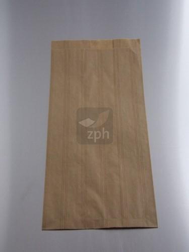 FRUITZAK 2 POND    26x32 cm zijvouw 16+10x32  BRUIN KRAFT BLANCO