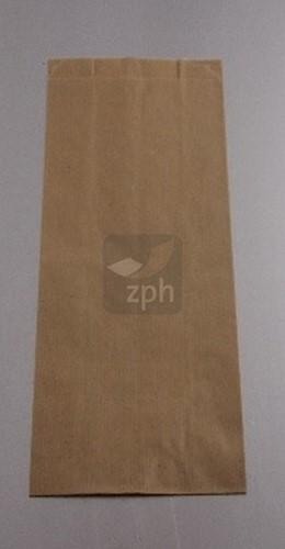 SUIKERZAK 2 POND 16 x27 cm zijvouw (11+5 x27)  NATRONKRAFT p/kg