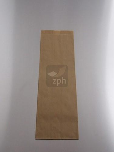 SUIKERZAK 3 POND 19x32 cm zijvouw (11+8x32 cm) NATRONKRAFT  p/kg.