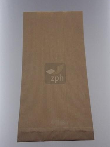 SUIKERZAK 5 POND 21.5x36 cm zijvouw (14+7.5x36) NATRONKRAFT  p/kg.