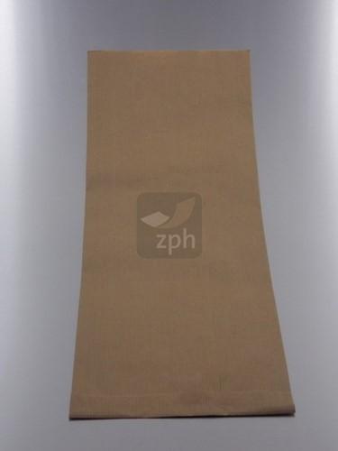 SUIKERZAK 12,5 POND 29X47 cm zijvouw 19 +10x47) NATRONKRAFT p/kg.