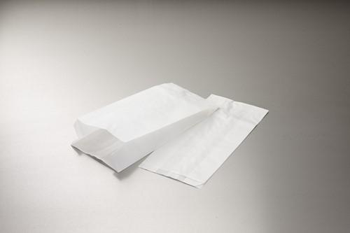 ERSATZ KOEKZAK 3 POND 26x36 cm zijvouw (16+10x36) WIT BLANCO