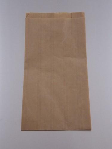 FRUITZAK 1 POND   20.8x27cm zijvouw 14+6.8x27 BRUIN KRAFT BLANCO