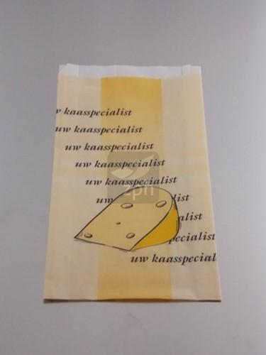 KAASZAKJES papier polykraft 18x27cm zijvouw (14+4x27)