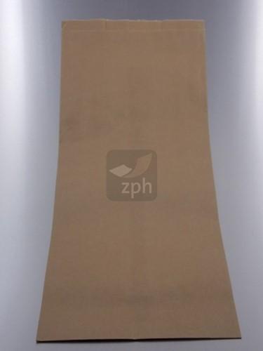 SUIKERZAK 25 POND 39x59 cm zijvouw 24+15x59) NATRONKRAFT  p/kg.