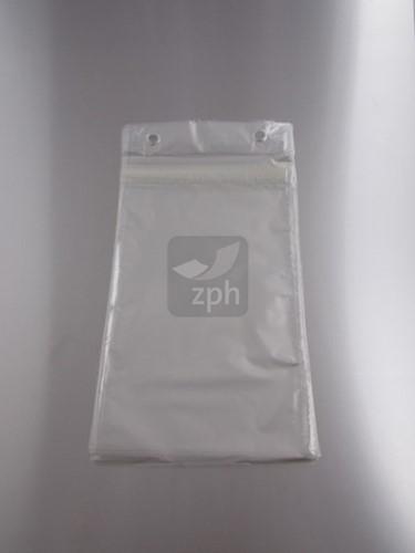 PP PLASTIC VLEESWARENZAK 17x26 cm + 4 cm klep 25 mµ