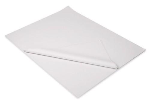 INPAKVELLEN WIT BLANCO vetwerend papier 45x50 cm   p/kg