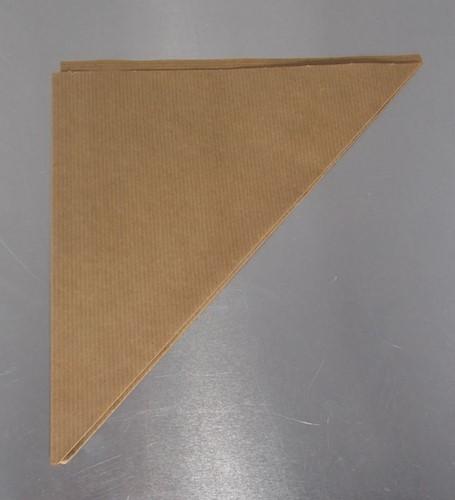 PUNTZAK  bruin smal gestreept natronkraft 60 grams K21