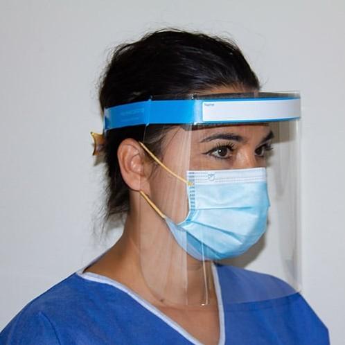 Face shield gezichtscherm 31,5x22 cm