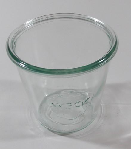 WECK STORT GLAS 580 ml doos a  6 st.