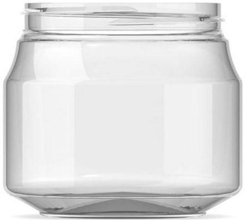 Pindakaas POT glashelder PET 300 ml 80x84 mm