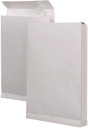MONSTERZAKKEN MET BLOKBODEM 229X324X38 150 grams wit venster links