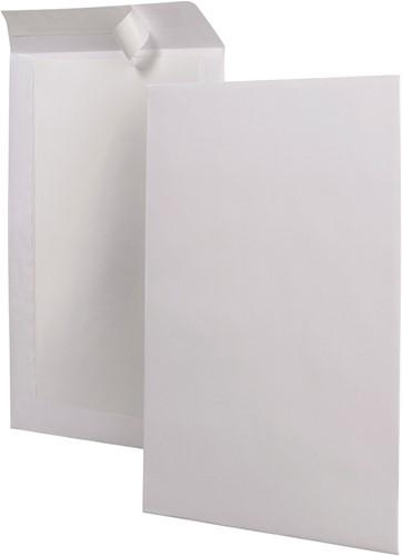 BORDRUG-ENVELOPPEN 380X450 wit/grijs ongegomd