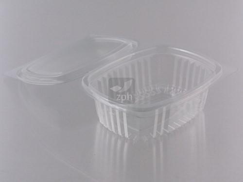 SALADE KLAPBAK PET 135x105x45 mm 250 ml  V00510
