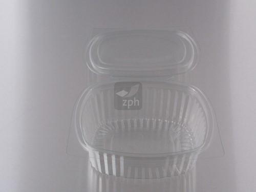 SALADE KLAPBAK PET 152x125x57 mm 500 ml PET V00512