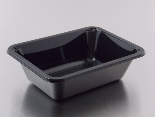 MENUBAK SEALTRAY C-PET 171x127x35 mm ZWART B101  1051 1785,04