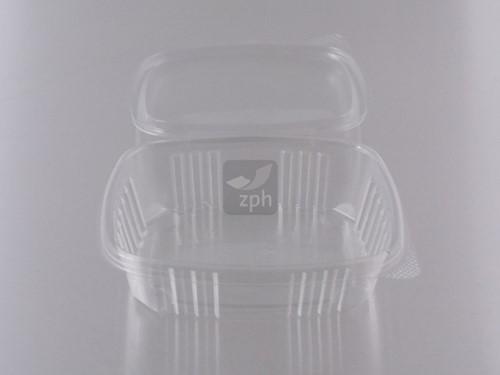 BAKJE MV2 250cc noten & saladebakje APET 141x124x37 mm  TRANSPARANT