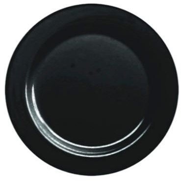BORD DINNER EN BUFFET  ROND Ø 23 cm  ps  zwart  mozaik