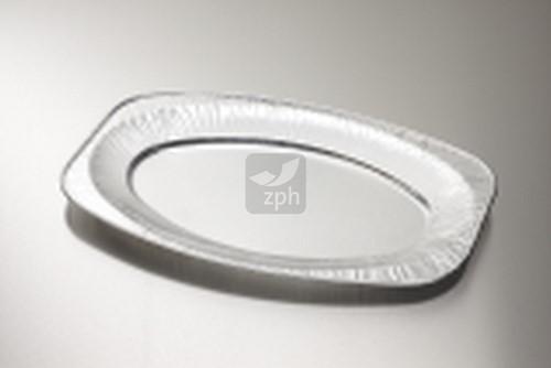 CATERINGSCHAAL ALUMINIUM  OVAAL 351x243 mm