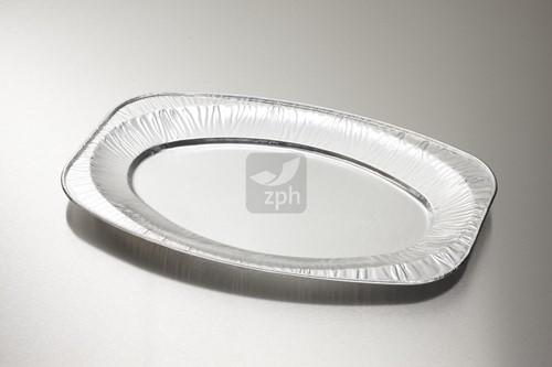 CATERINGSCHAAL ALUMINIUM OVAAL 430x286 mm