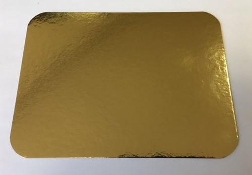 GOUDKARTONS MET AFGERONDE HOEKEN 15x20 cm 750grs.