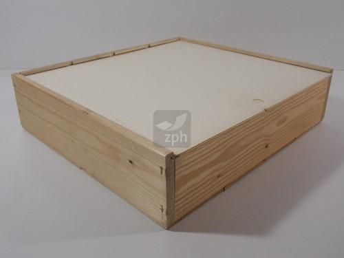 Omdoos 380x408x115 mm tbv de 4 FLES WIJNKIST houtverbinding (47013)