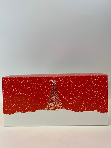 STOLDOOS kerststol 340x160x80 mm ETOILE dessin 0765 middel op=op