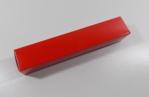 STAAFKOKER DOOS  ROOD NEUTRAAL 123  060x060x320 mm