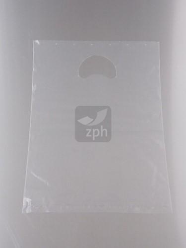DRAAGTAS DKT LDPE 23x30 cm 68 mµ transparant