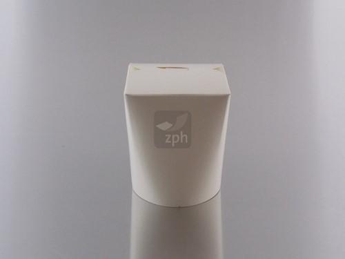 Noodle Wok beker 16 oz 460 ml  wit blanco karton