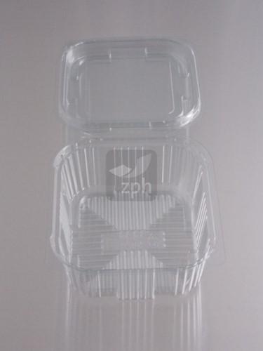KLAP BAK PET 115x110x50 mm 500 cc TRANSP. V00495/P