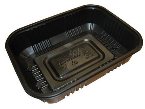 SEALBAK PP 230x190x50 mm 1700 cc ZWART PSW 23195