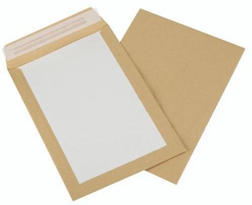 BORDRUG-ENVELOPPEN 380x450 bruin/grijs ongegomd
